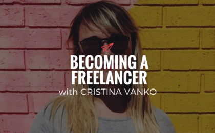QLC 084: Becoming a Freelancer with Cristina Vanko |Bryan Teare