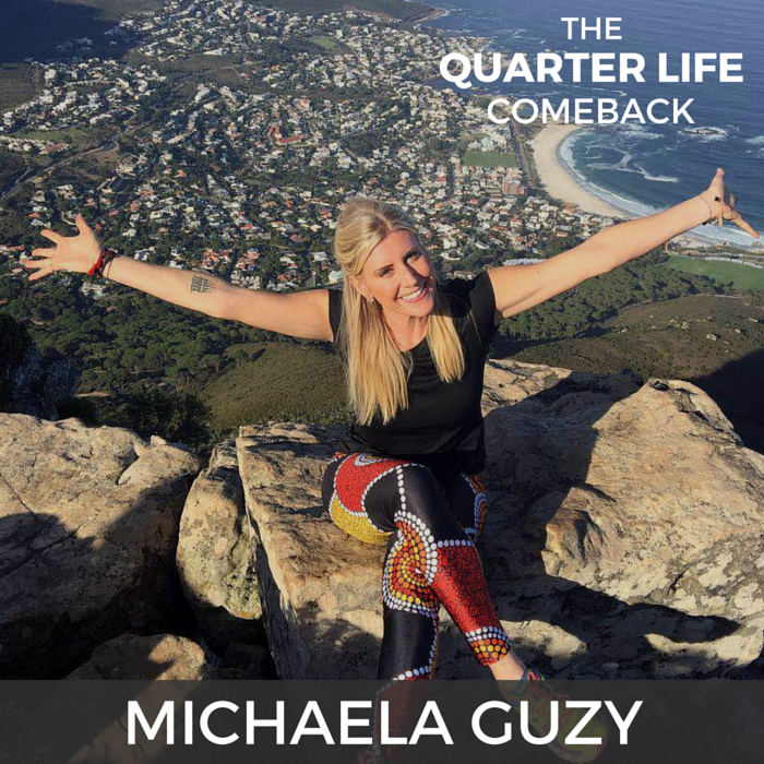 QLC 009: Ripping Off Life's Band-Aids with Michaela Guzy (Part 1) | Bryan Teare