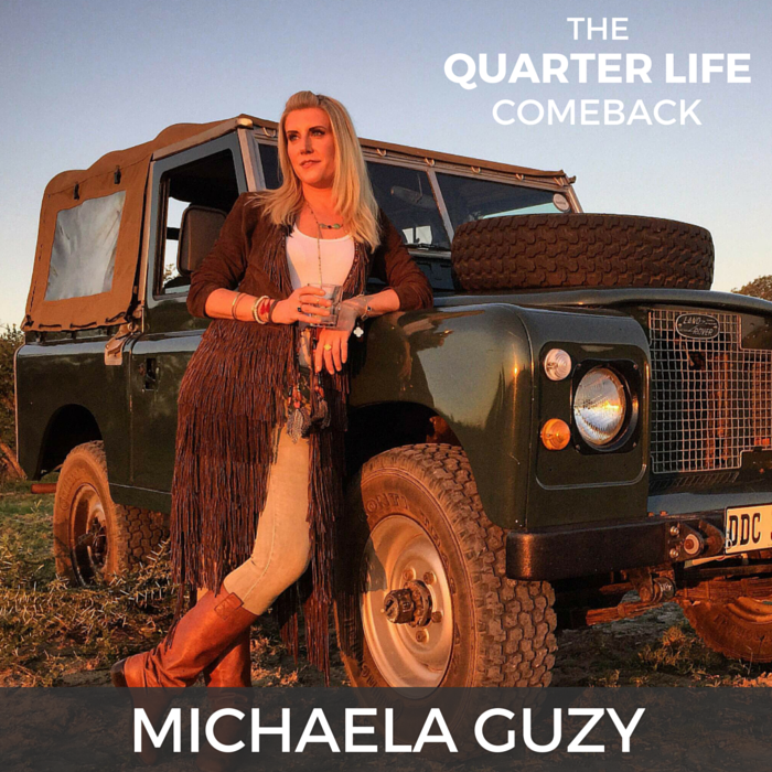 QLC 010: Ripping Off Life's Band-Aids with Michaela Guzy (Part 2) | Bryan Teare